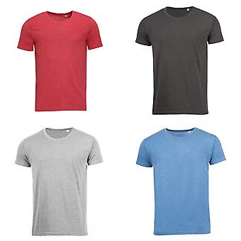 SOLS Mens gemengd Short Sleeve T-Shirt