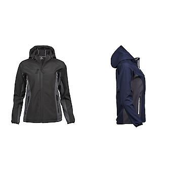 Tee Jays Womens Ladies Hooded Performance Softshell Jacket