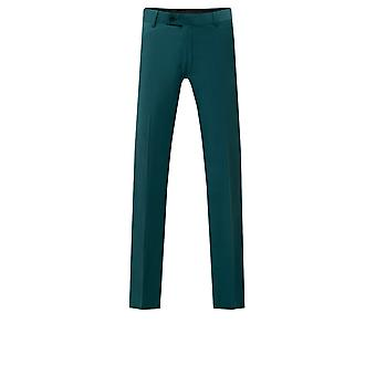 Avail London Mens Teal Suit Trousers Skinny Fit