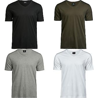 Tee Jays Mens Luxe V-Neck Tee