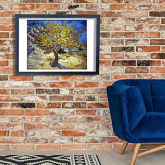 Vincent Van Gogh - The Mulberry Tree Poster Print Giclee