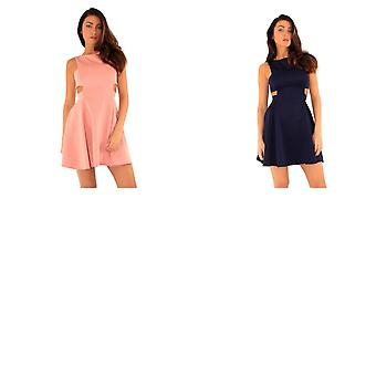 Ly Womens/Ladies Regent Street Cut Out Skater Dress