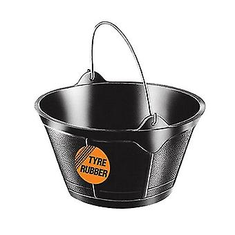 Red Gorilla Rubber Feed Bucket