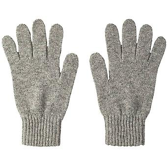 Johnstons of Elgin Cashmere Gloves - Silver
