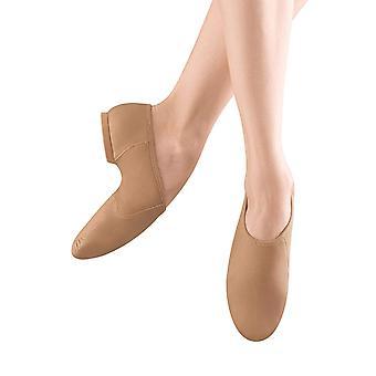 Bloch Dance Women's Neo-Flex Leather and Neoprene Slip On Split Sole Jazz Shoe