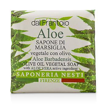 Dal frantoio Olivenöl Pflanzenseife Aloe Vera 221048 100g/3,5 Unzen