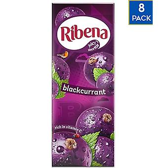 8 x 250ml Ribena Blackcurrant Vitamin C Juice Box