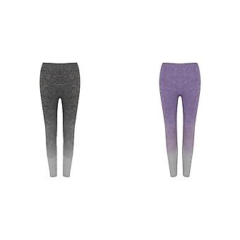 Tombo Womens/Ladies Seamless Fade Out Leggings