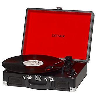 Odtwarzacz rekordów Denver Electronics VPL 120 Czarny
