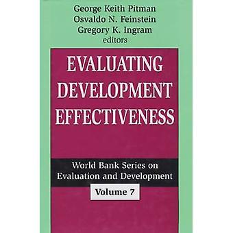 Evaluating Development Effectiveness by George Keith Pitman - Osvaldo