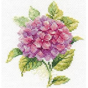 Kit Alisa Cross Stitch - Hortênsia