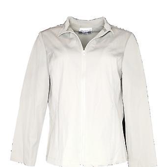 Magellan Women's Petite Zip Front Softshell Jacket Basic Beige