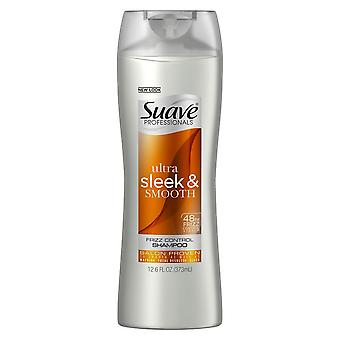 Suave professionals ultra sleek & smooth frizz control, shampoo, 12.6 oz