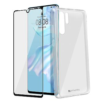 4Smarts Huawei P30 Pro Polycarbonate Rigid Film Tempered Glass Transparent