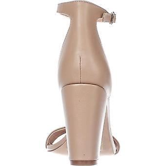 INC International Concepts I35 Kivah Ankle Strap Dress Sandals, Dark Almond, ...
