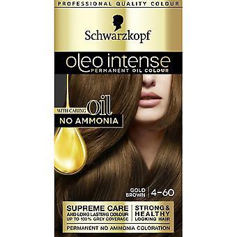 Schwarzkopf Oleo Intense Hair Colour - 4-60 Gold Brown