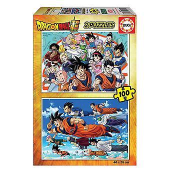 Puzzle Dragon Ball Educa (100 pcs)
