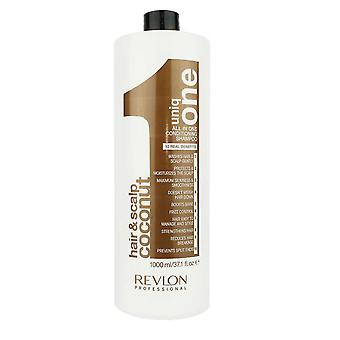 Revlon Uniq One Shampoo Hair and Scalp Conditioning 1000ml Coconut