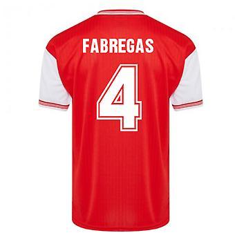 Score Draw Arsenal 1985 Centenary Retro Football Shirt (FABREGAS 4)