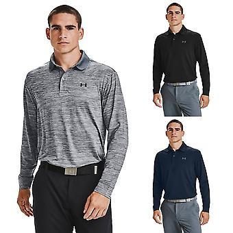 Alle Armour Miesten 2020 Performance Pitkähihainen Stretch Wicking Golf Poolopaita