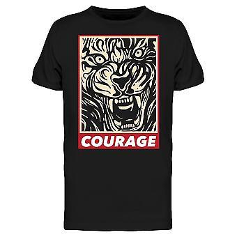 Courage Tee Men's -Image door Shutterstock