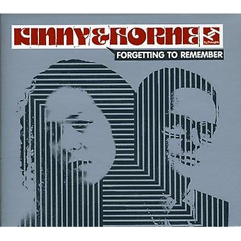 Kinny & Horne - Forgetting to Remember [CD] USA import