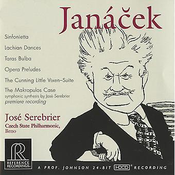 L. Janacek - Jan Cek: Orchestral Works [CD] USA import