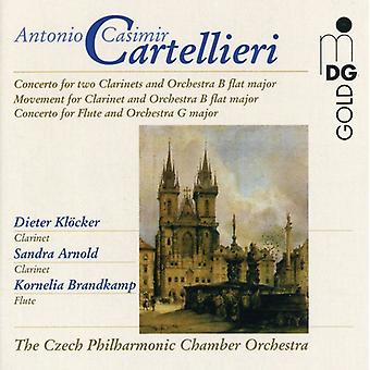 A.C. Cartellieri - Cartellieri: Wind Concertos Vol. 2 [CD] USA import