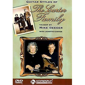 Guitar Styles of the Carter Family [DVD] USA import