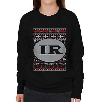Thunderbirds IR Christmas Design Kvinder's Sweatshirt
