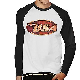 BSA Copper Logo Men's Baseball Long Sleeved T-Shirt