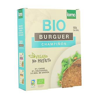 Vegetable Burger with Organic Mushrooms 160 g