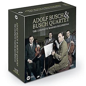 Adolf Busch & the Busch Quartet - Adolf Busch & the Busch Quartet: Complete Warner Recordings [CD] USA import