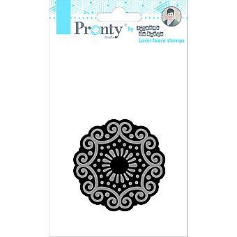 Pronty Crafts Mandala 3 Laser Foam Stamp