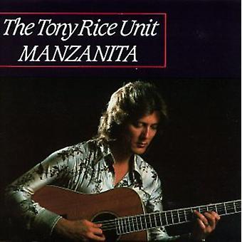 Tony Rice - Manzanita [CD] USA import