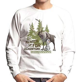 Disney frozen Always Up für Abenteuer Männer's Sweatshirt