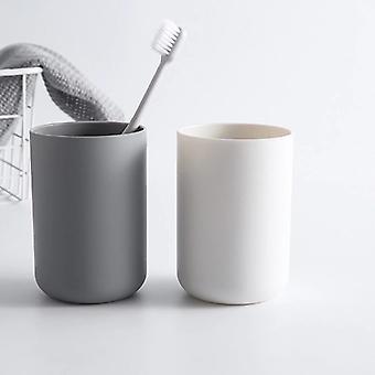 Umweltfreundliche dicke runde Wasser Tassen Zahnbürste Halter - Home Badezimmer Zahn