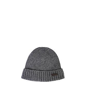 Barbour Mha0449gy15 Men's Grey Wool Hat