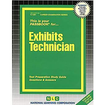 Exhibits Technician: Passbooks Study Guide (Career Examination)