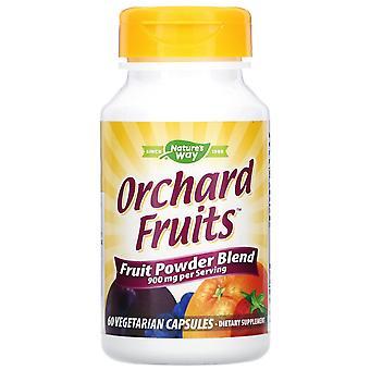 Nature's Way, Orchard Fruits, Fruit Powder Blend, 900 mg, 60 Vegetarian Capsules