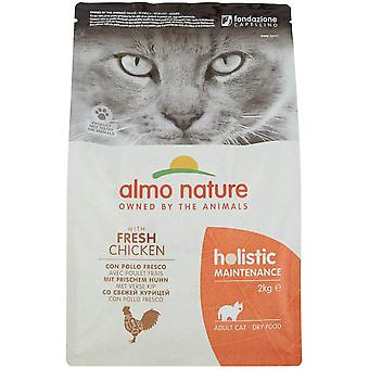 Almo Nature Holistic Maintenance Cat Dry Food With Chicken And Rice - 2kg