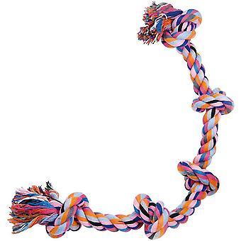 Gloria Cotton Rope 5 Knots Dog Toy