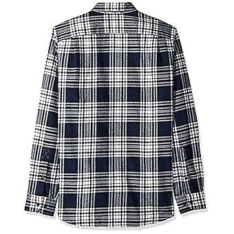 Marke - Goodthreads Men's Slim-Fit Langarm gebürstet Flanell Shirt, ...