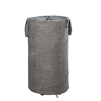 YANGFAN Foldable Portable Oxford Cloth Laundry Hamper with Wheels