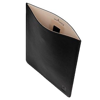 Black Malvern Leather iPad Case