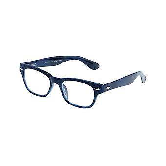 Lesebrille Unisex  Le-0146K Mode Blau Stärke +2,50