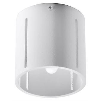 1 Licht Flush Deckenleuchte Weiß, G9