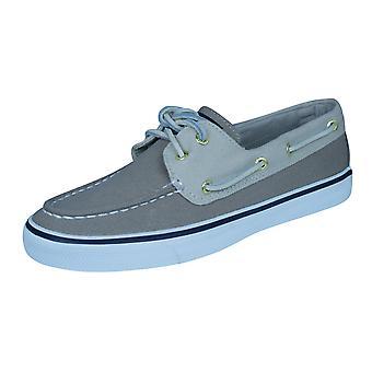 Sperry Bahama Womens dek / doek boot schoenen - steen
