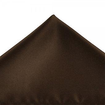 Legături Planet Plain Ciocolata Brown Pocket Square Batista