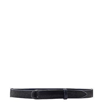 Orciani Nb0069bullsoft006 Men's Blue Leather Belt